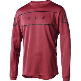 Fox Flexair Fine Line LS Jersey Men cardinal